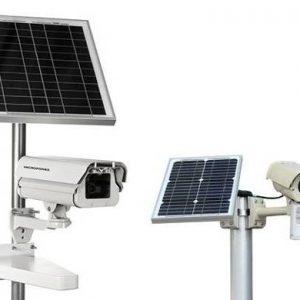 Dispositivos de videovigilancia solar