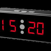 Reloj de escritorio con cámara de infrarrojos 1080P
