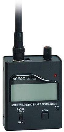 Detector de frecuencias SC1-PLUS 30MHz a 2,8 GHz 