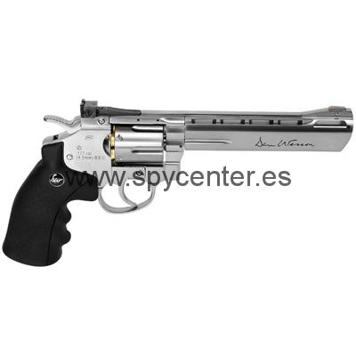 Revólver de aire comprimido Dan Wesson. Calibre: 4,5mm