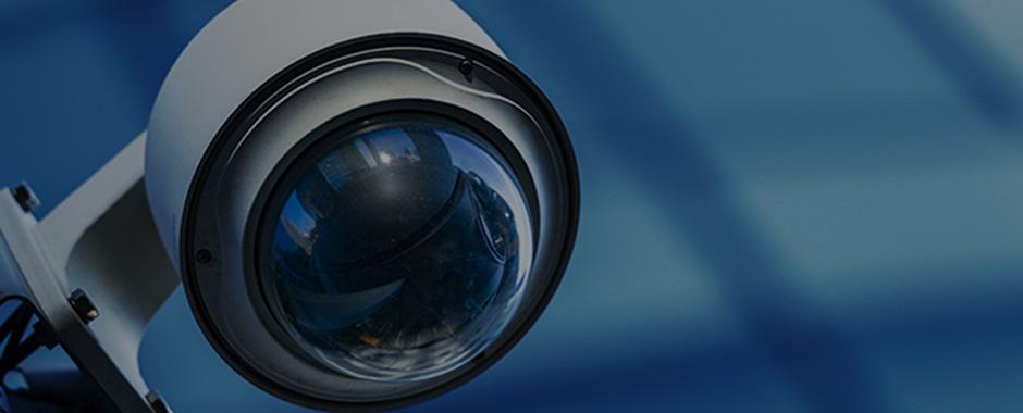 Imagen de una cámara de seguridad