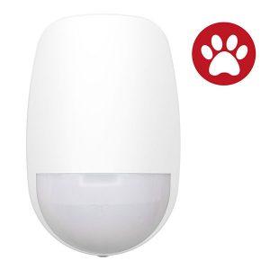 Detector inalámbrico inmune a las mascotas